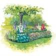 База отдыха Берендеевка - иконка «сад» в Солонешном